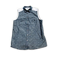 Top Supremebeing Violet Chambray - obrázek